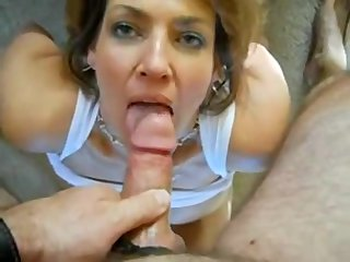 MILF relative to heavy boobs enormous a blowjob CAMTIPS.