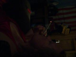 Sophia short smoking vidoe