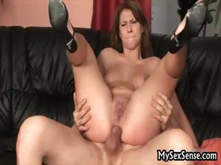 Melinda gets deep anal fucking, does part4