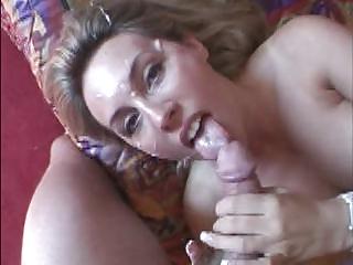 wife cum in face