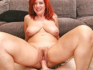 MILFTRIP Big Tit Redhead MILF Creams On Big Hawkshaw