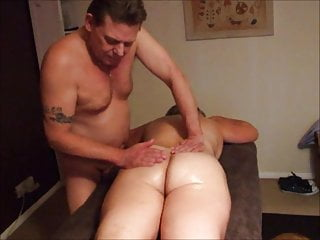 UK Wife Receives A Mammal Cuckold Massage and Creamie