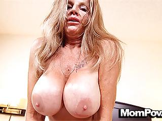 MomPov huge tits full-grown cougar loves shagging POV radiate