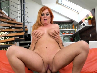 Large Grown up Horny Floozy Fucked and jizzed in her mouth