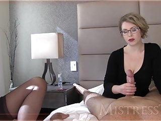 Mistress T jerks a locate
