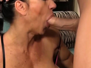Busty muscular cosset enjoying hardcore fucking