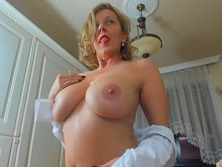Sexy MILF With Obese Natural Boobs On Webcam by WhiteWolfPL