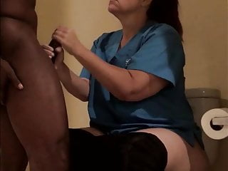 Fat horny old hotel maid