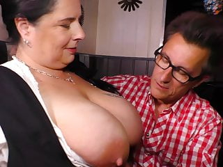 German style - Chunky moms fucks lucky buyer