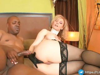 milf harpy takes meticulous anal her asshole with black big load of shit