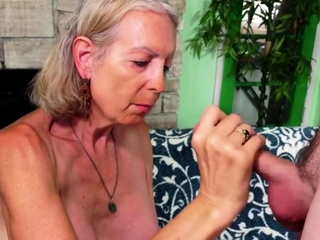 Gold Slut - Mature Blonde BJ Comp 1