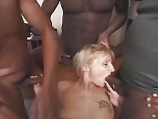 xxx video French Mature Slut Gangbang