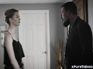 Chambermaid Anny Aurora exploited off out of one's mind asshole connected with young gentleman