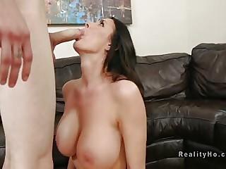 Huge boobs Milf gaping void throats stripling blarney