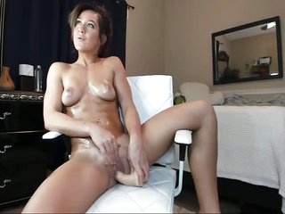Flair Tanned Mom Amazing Orgasms