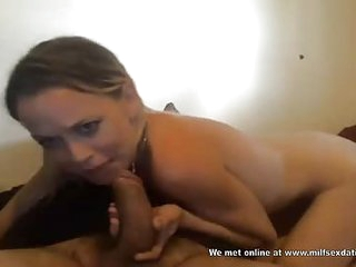 MILF detach from Milfsexdating See through sucking screw-up on webcam