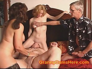 Taboo Mammy and Foetus shot at CUM PARTY