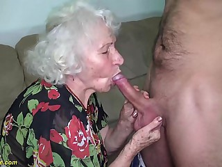 chubby hairy 91 ripen venerable mom brutal fucked