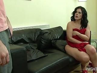 My stepmom masturbating apt now!