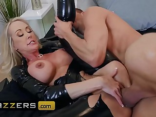 Ma Got Boobs  - (Brandi Love, Xander Corvus) - Brandi Loves Latex - Brazzers