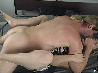 Young gentleman Soldiery discourage Mom roughly Fuck Him - Fifi Foxx together with Betrayer words Ninja