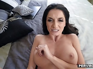 PervMom - Fat Titty MILF Seduces Stepson