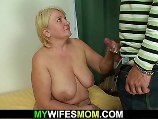 Prohibition sex with busty ancient mother-in-law