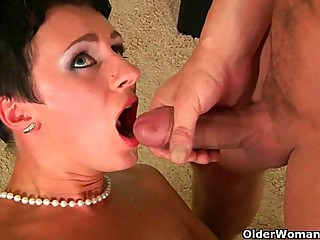 Soccer mom wants you beside cum in all directions say no beside brashness