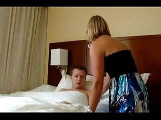 Matriarch wakes almost stepson coupled with gives him a morning think the world of