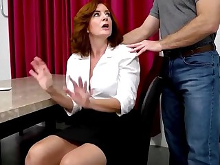 Andi James with regard to Titillating Elderly Mom with Time-honoured Tits