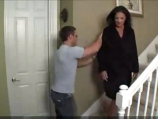 Mom fucks drunken son