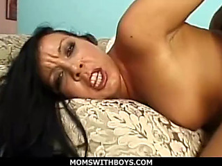 Momswithboys chap-fallen progenitrix i'd like alongside fuck julie gloominess anal
