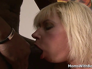 GoldenHaired granny lilli acquires anal screwed at the end of one's tether bbc