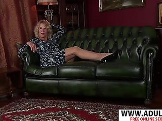 Enchanting fresh stepmama molly maracas acquires nailed hawt her son's fellow