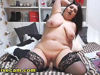 Hawt bulky mother i'd like to fuck show excitement live