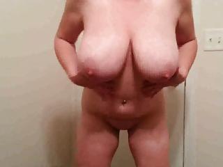 38H tits Lateshay 6 inch heel strip