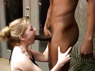 Hubby Watches Blonde Wife Get Fucked Away from Black Load of shit