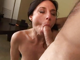 MILF loves in the chips in the brush ass