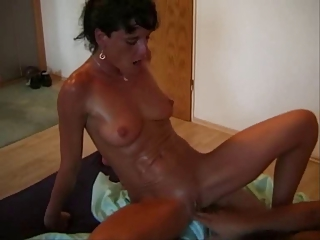 hot mommy vs cock