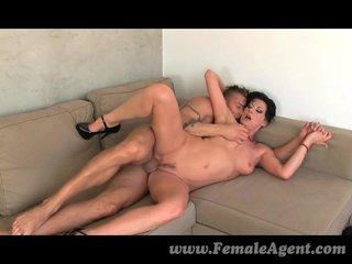 FemaleAgent - MILF agent loves strippers flannel