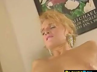 Blonde MILF Wants A Fat Black Cock