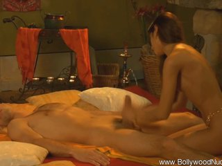 Sensual with an increment of Mysterious Bollywood Blowjob