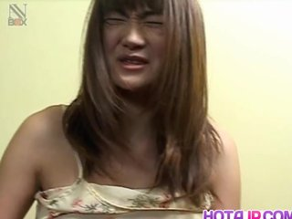 Milf Kaori plays all round toys on say no to pussy